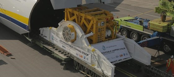 OSRL Increases SWIS Air Freight Capability with new Transport Skid for Singapore Capping Stack