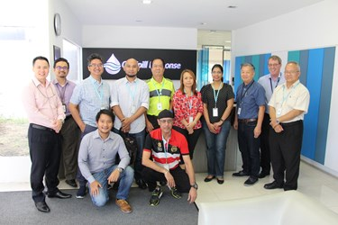 Hibiscus Petroluem visit our Singapore base