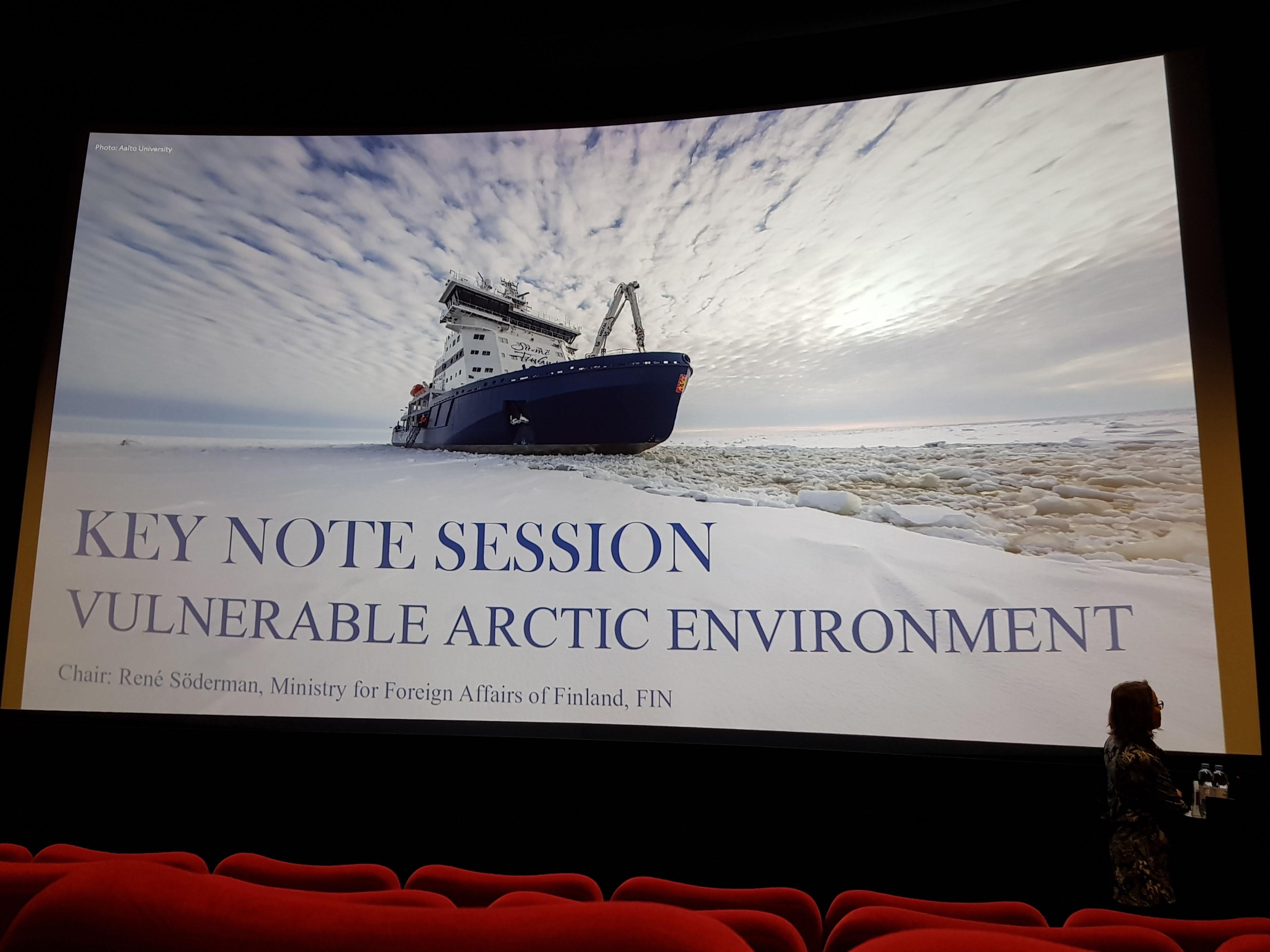 OSRL attend the Oil Spills in Arctic Areas Conference in Oulu