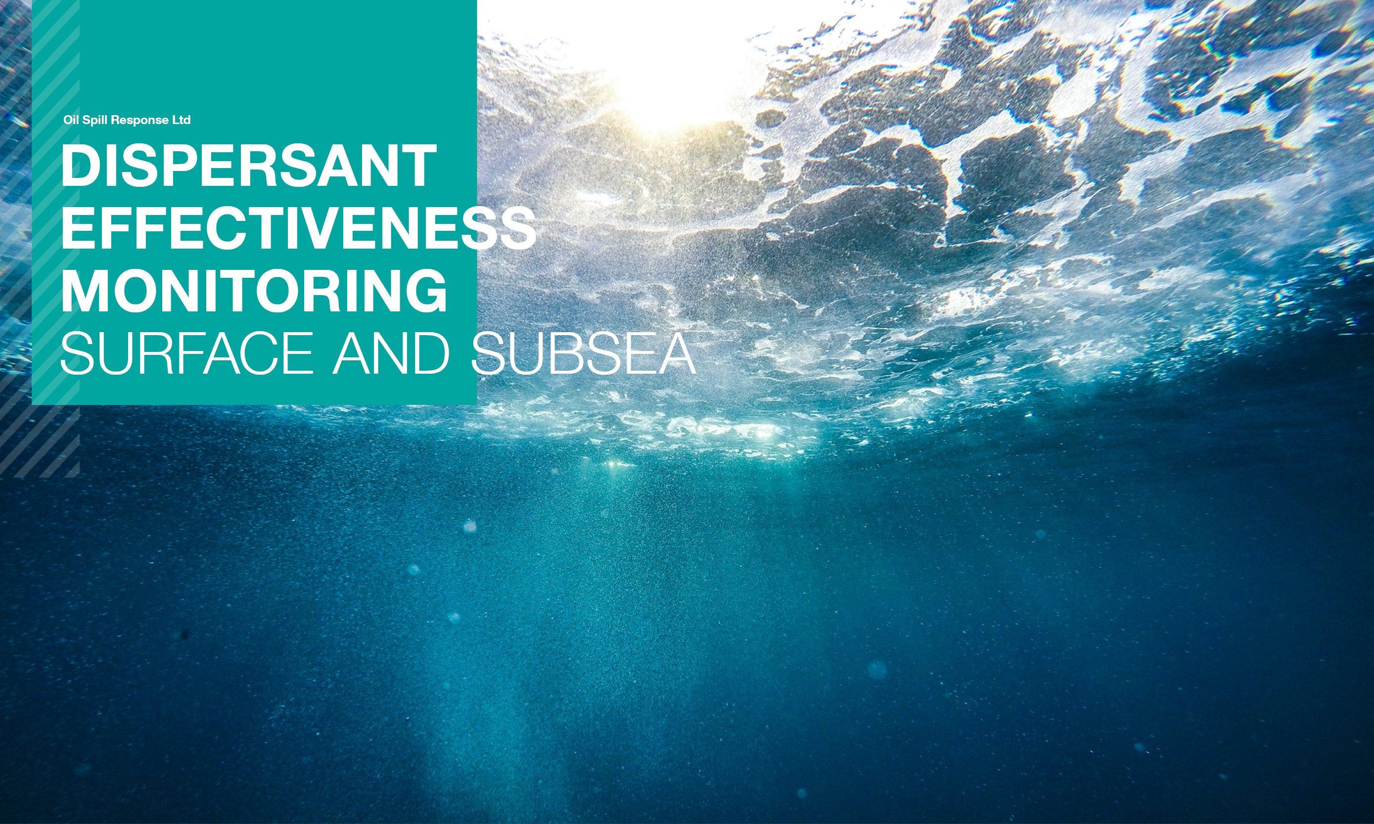 Seminar Recording: Dispersant Effectiveness Monitoring – Surface and Subsea