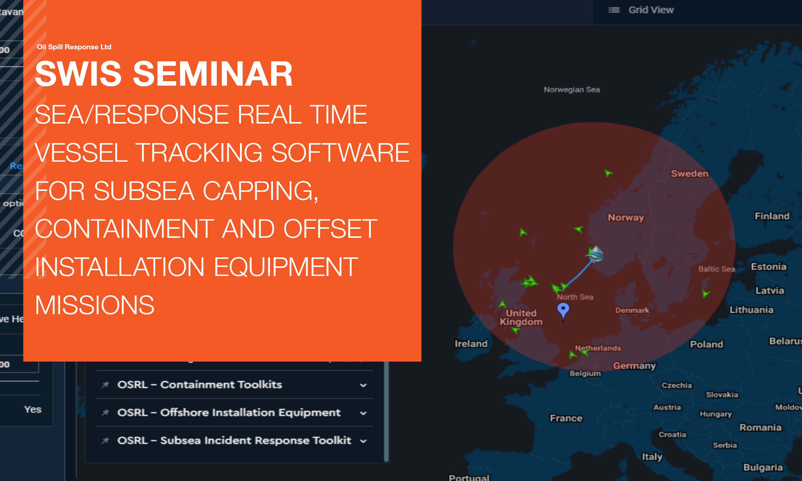 Seminar Recording: Sea/Response Real Time Vessel Tracking Software