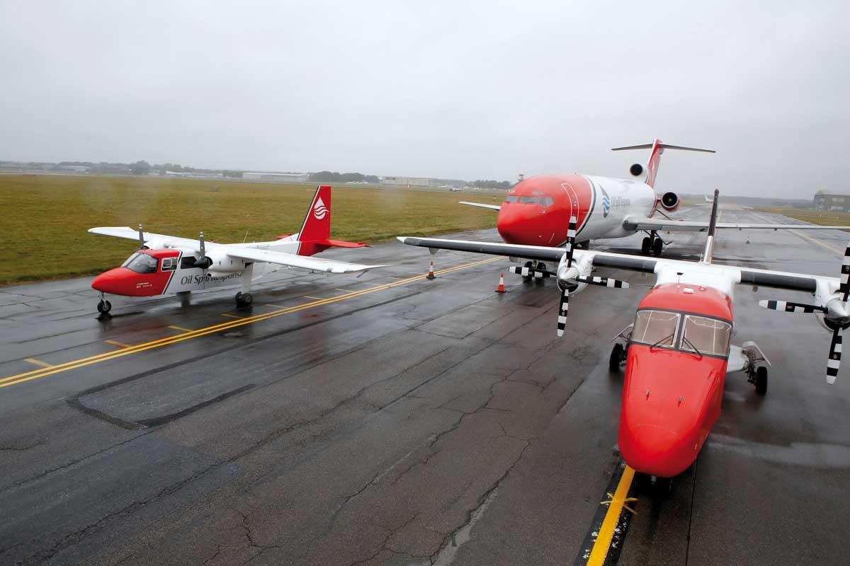 aircraft locations