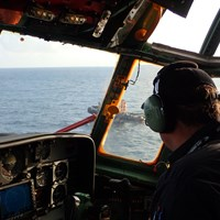 On board the Hercules