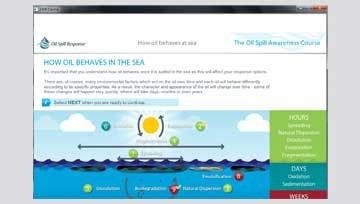 New addition to e-learning training course: The Oil Spill Awareness Course for Offshore Vessel Crews
