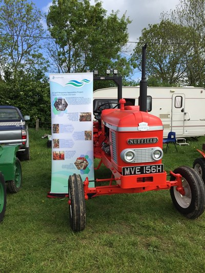 OSRL raises 4170 for charities from sale of restored tractor project