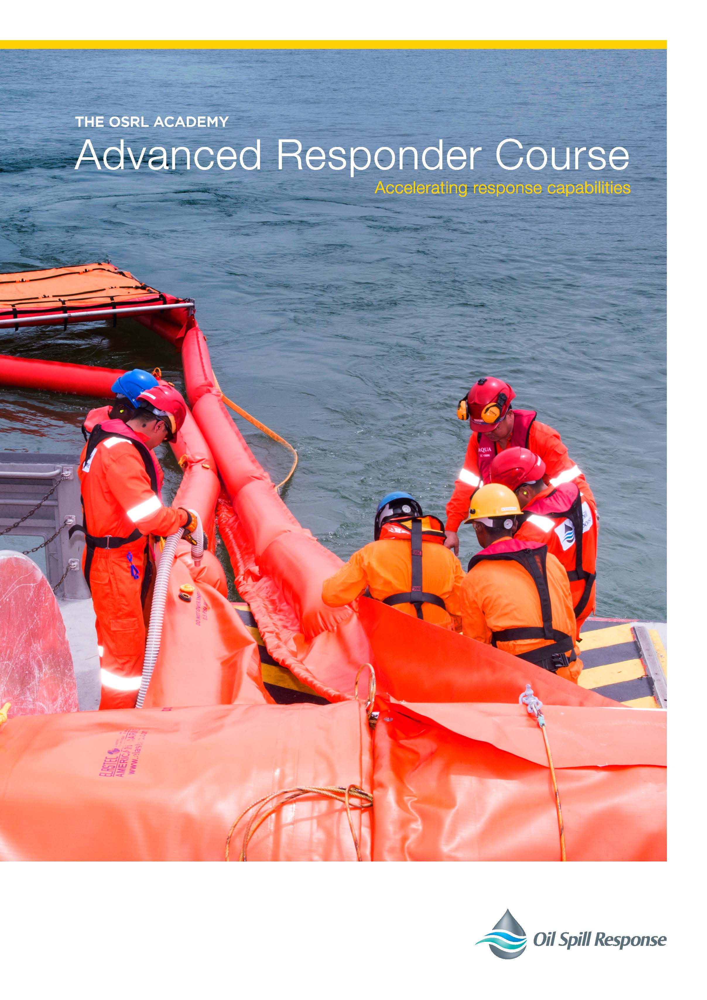 Oil Spill Response Advanced Responder Course