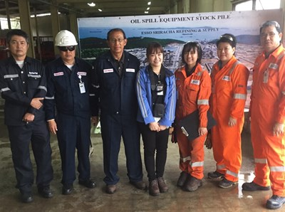 Case study: Improving the Oil Spill Preparedness Strategy for Thailand