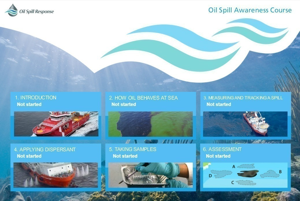 Oil Spill Awareness for Vessel Crews Demo