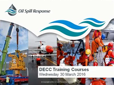 Webcast: DECC Training Requirements