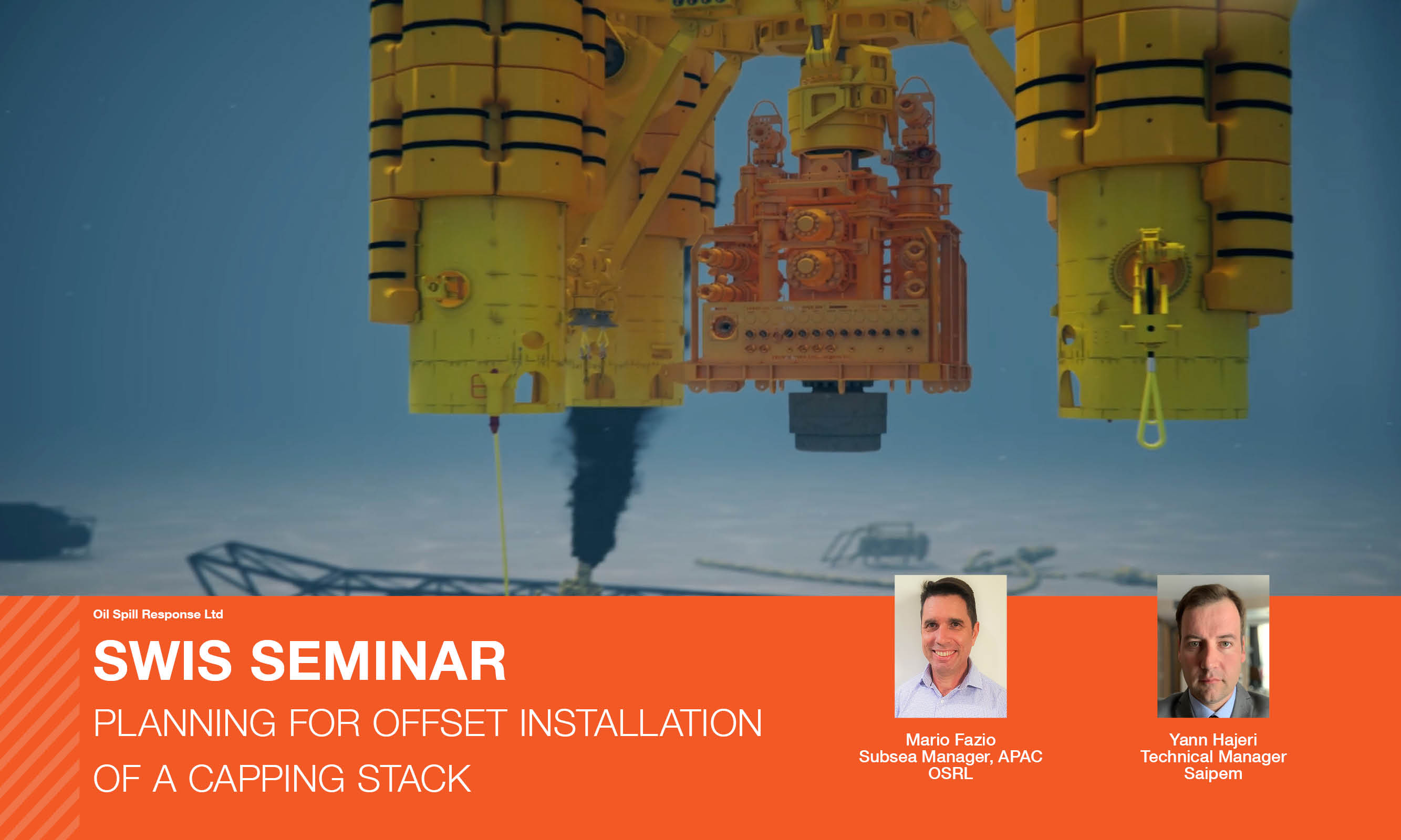 Seminar Slides: Planning for Offset Installation of a Capping Stack